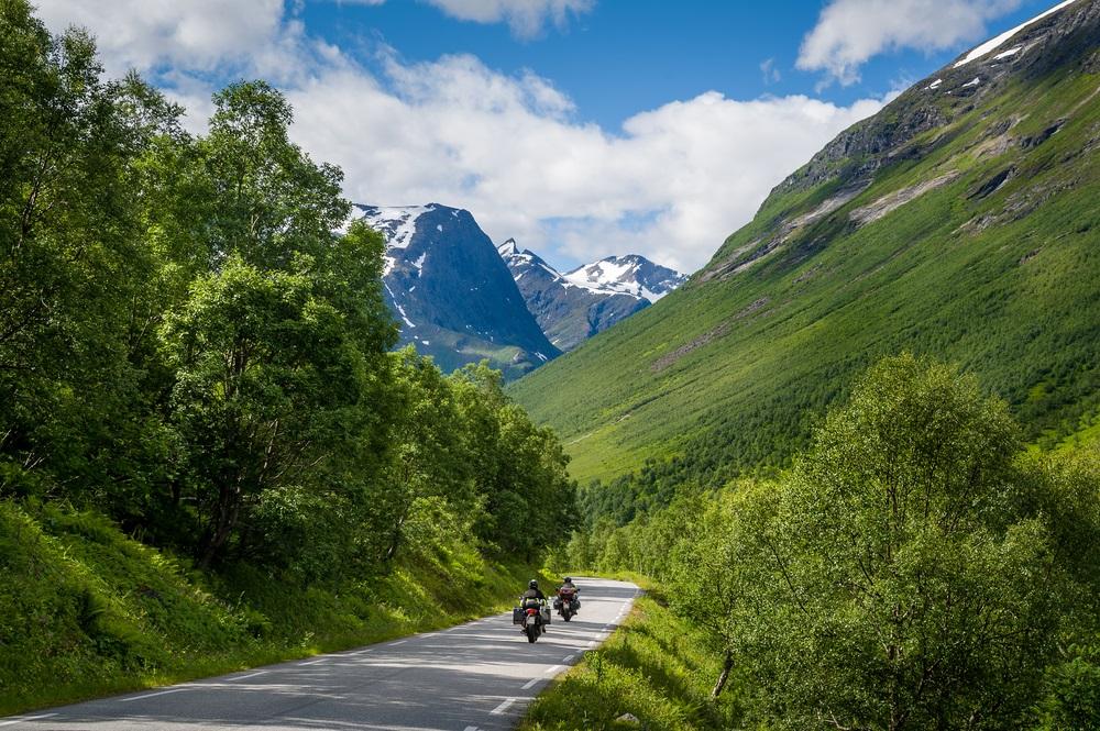motorreis noorwegen