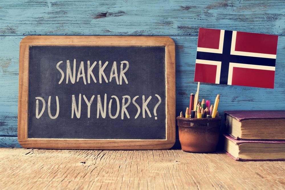 taal in noorwegen