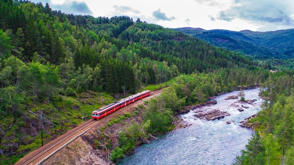 trein noorwegen