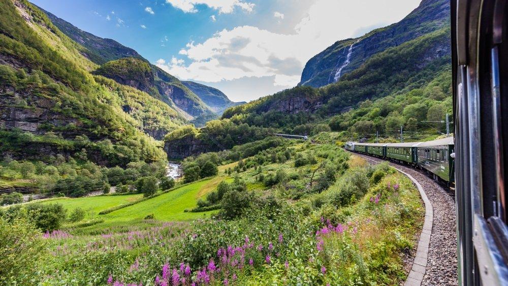 treinreizen noorwegen